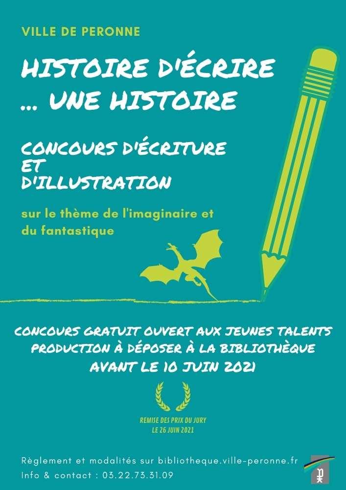Concours Histoire d'écrire...une histoire